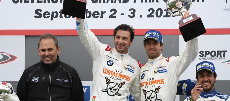 Antonio Felix da Costa wins Silverstone International GT Open race